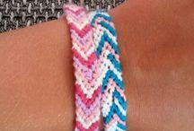 Friendship bracelet - naramky pratelstvi