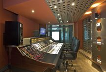 Babajim Studios / Babajim Studio A is the flagship recording space of Babajim Istanbul Studios & Mastering. It is specifically designed to inspire musicians' creativity, and to be a playhouse of sonic possibilities for engineers and producers.   The studio's layout is both original and striking. Designed by Roger D'arcy of Recording Architecture, it comprises five isolated rooms spread across two different levels. It is both acoustically and aesthetically brilliant.