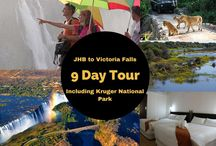 Victoria Falls Tours / See what to do in and around Victoria Falls.  Visit the spectacular Falls and take part in Safari Game Drives.