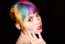 my colourful days / My trip down memory lane of all my different hair colours over the years