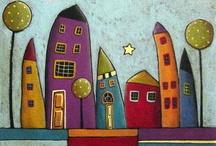 Kreslené domečky