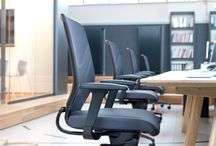 "Office environments / Wilkhahn's ""Dynamic office"" concept is all about integrating more movement into offices. And it all starts with the way we work at desks. The ultimate challenge in office chair development is to encourage more movement while sitting down."