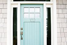 Painting Exterior Doors / by Tracey Taylor