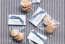 Wedding cookie packaging
