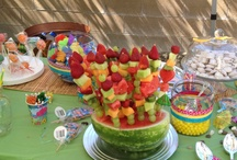 Shower ideas! / Luau themed coed shower for Sabre and Cody and baby Annallie! / by Shanna Savage