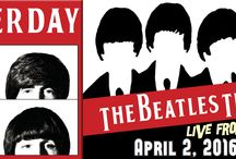 YESTERDAY: THE BEATLES TRIBUTE / Critically acclaimed Yesterday recreates historic Beatles performances in an amazing musical tour through the greatest hits of the Fab Four's illustrious career. Yesterday has thrilled audiences worldwide with their amazingly convincing and accurate portrayals of John, Paul, George and Ringo, and their outstanding vocals and musicianship. At The Newton Theatre 4/2/2016.