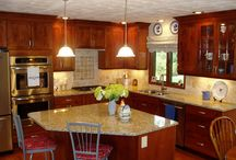 Columbus Ohio Kitchen Remodel Utilizing Space / This kitchen remodel was creative in its use of space and areas - hopefully this will inspire you to think a little outside the box with your next remodel!