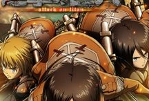 Anime - Attack on titan / Shingeki no Kyojin