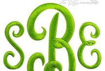 Formal Elegant Embroidery Fonts