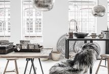 Scandinavian & Industrial Design: A Match Made in Heaven / The harmonious marriage between Scandinavian and industrial design is possible! Two of our favourite designs: Scandinavian décor and industrial design.