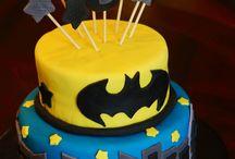 Batman Lego cakes