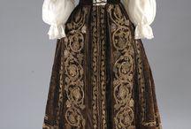 Dresses in folk style