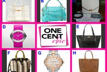 FABULOUS TUESDAY / Great Choice of Bags and Watches Tonight at 10 PM ET at OneCentChic