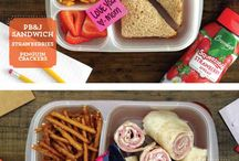 School lunches and snacks