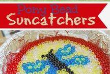Pony beads crafts