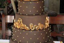 torta ciocco oro