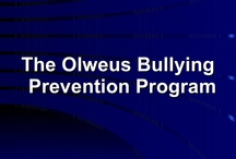 Bullying prevention program (Olweus)