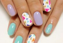 Pastel on my Nails