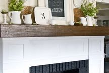 Mantle Decor / by Corey Yoder