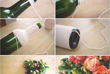 бутылочки и вазочки