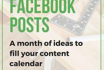 Facebook--tips