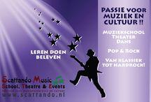 Scattando Music School, Theatre & Events / Scattando related