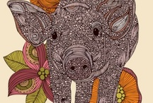 Pig love / by Emily Mitchell Swinyer
