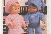 Vintage Patterns / Love it when the internet turns up things like this. King cole knitting patterns from the 60s ,70s and 80s just for fun.