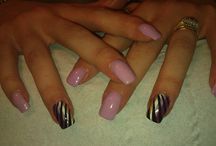 Nail Art by Anita / All designs by hand at my salon Karma Life & Beauty......requests encouraged!!