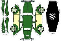 Vystřihovánky - auta