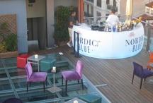 Azotea Piscina. Hotel Santo Domingo -Madrid