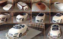 car Audi cake