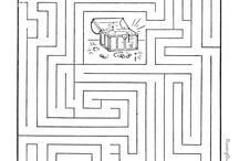 find the way... / mazes for pre schoolers