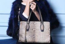 Women's genuine leather shoulder bag
