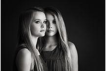 Portrait twins