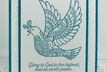 Card - dove of peace