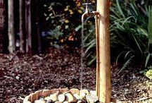 Garten Wasserhahn