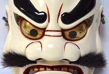 Demonio.  máscara