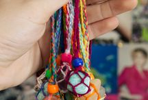 Inspired Jewelry Designs / Cool jewelry designs made from recycled materials and inspired from a love for the ocean, beach, and nature.