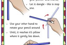 Work-Pencil grips