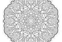 Cool mandalas board 2 / More adult coloring