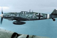 WW II AIRCRAFT - Axis in Colour
