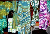 Handpainted scarves / by Jeffrey Guenther