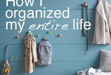 Organization ideas / by Nancy Farrer