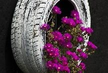 Things I like / Tyre. Planter