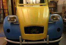 citroen 250 restauratie / foto's van de restauratie van een Citroën 250 ex Poste