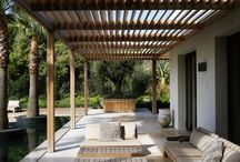 outdoor space - louvre style / outdoor space