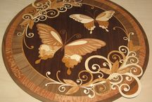 Design Ideas / See all design ideas on HOUSE, Design, Marquetry and Royal design by House & Garden. Ideas for decorating with wood, and simple wood elements