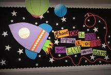 Library bulletin board ideas / by Megan Robertson