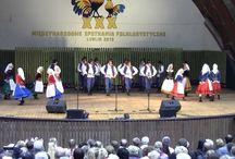 Tańce i śpiewy folklorystyczne